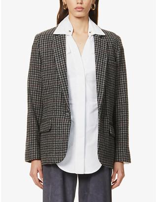 Etoile Isabel Marant Charly houndstooth wool jacket