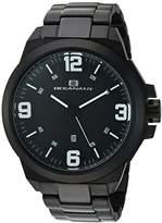 Oceanaut Men's 'Armada' Quartz Stainless Steel Casual Watch, Color:Black (Model: OC7310)