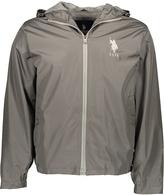 U.S. Polo Assn. Carbon Silver & Gray Windbreaker