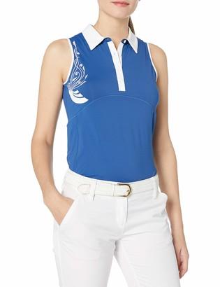 Cutter & Buck Women's Moisture Wicking UPF 50+ Sleeveless Careen Polo Shirt