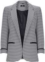 Monochrome Striped Jacket