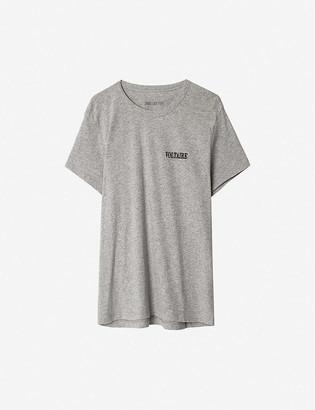 Zadig & Voltaire Redo Mini Voltaire cotton T-shirt