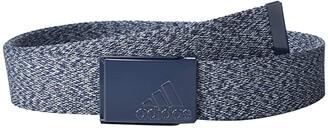 adidas Heather Web Belt (Collegiate Navy) Men's Belts