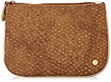 Stephanie Johnson Medium Flat Cosmetic Pouch, Laguna Brown