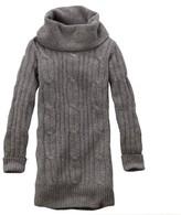 Timberland Women's Merino Wool Cableknit Sweater Dress Style 2661j