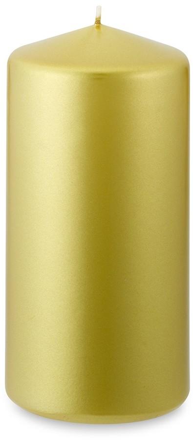 Williams-Sonoma Gold Pillar Candles