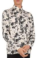 The Kooples Tainted Daisies Regular Fit Button-Down Shirt