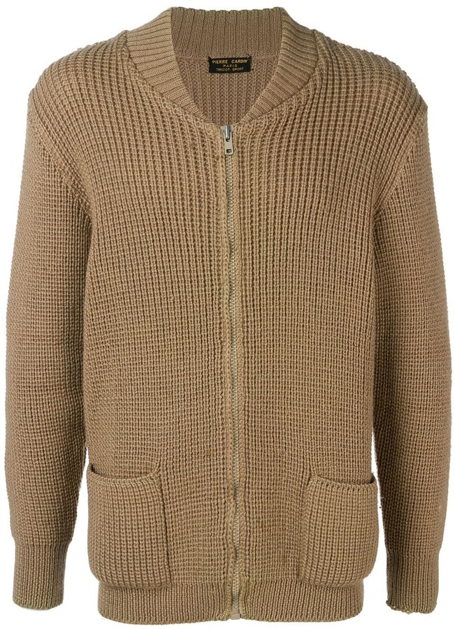 2e8d695b737 Pre-Owned 1970's chunky knit cardigan