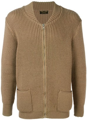 Pierre Cardin Pre Owned 1970's Chunky Knit Cardigan