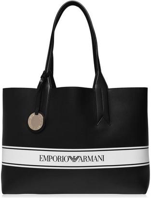 Emporio Armani Tape Shopper Bag