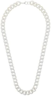 Susan Caplan Vintage 1990s Curb Chain Necklace