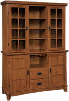 Asstd National Brand Maxwell Buffet and Hutch