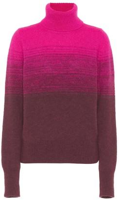 Dries Van Noten Gradient turtleneck sweater