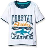 Hatley Boy's Team Shark Short Sleeve Graphic T-Shirt