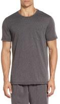 Daniel Buchler Washed Cotton Blend T-Shirt