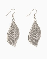 Charming charlie Shimmering Leaf Earrings