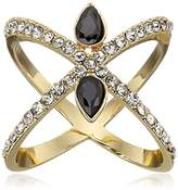 Jules Smith Designs Criss Cross with Bling Ring, Size 6