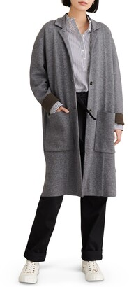 Alex Mill Hall Wool Blend Sweater Coat