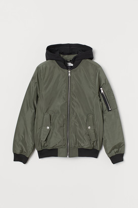 H&M Padded Bomber Jacket