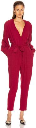 IRO Julliaca Jumpsuit in Hot Pink | FWRD