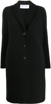 Harris Wharf London Midi Single Breasted Coat