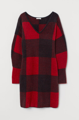 H&M Knit Dress - Red