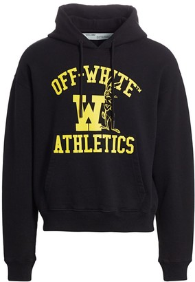 Off-White Off White Drawstring Embroidery Sweatshirt