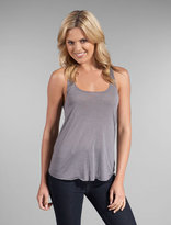 Contrast Stitching Back Seam Loose Fit Tank