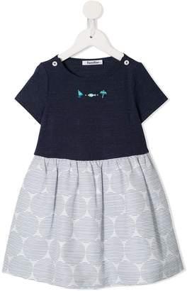 Familiar Colour-Block Dress