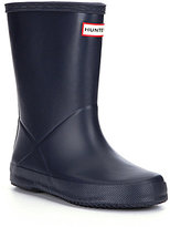 Hunter First Matte Kids' Waterproof Rain Boots