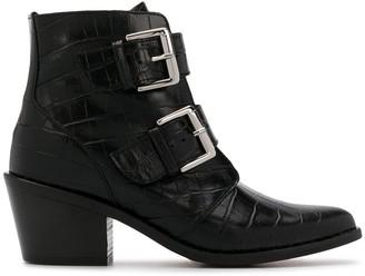 Kurt Geiger Denny printed boots