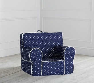 Pottery Barn Kids My First Navy Pin Dot Anywhere Chair