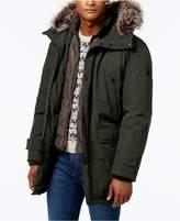 MICHAEL Michael Kors Big and Tall Hooded Bib Snorkel Coat