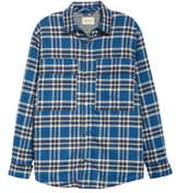 Fear Of God Oversize Plaid Snap-Up Flannel Shirt Jacket