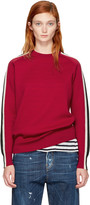 DSQUARED2 Red Sleeve Stripe Sweater