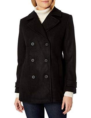 Amazon Essentials Plush Peacoat Wool Blend Coat,S
