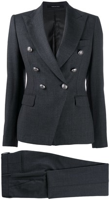 Tagliatore Double-Breasted Trouser Suit