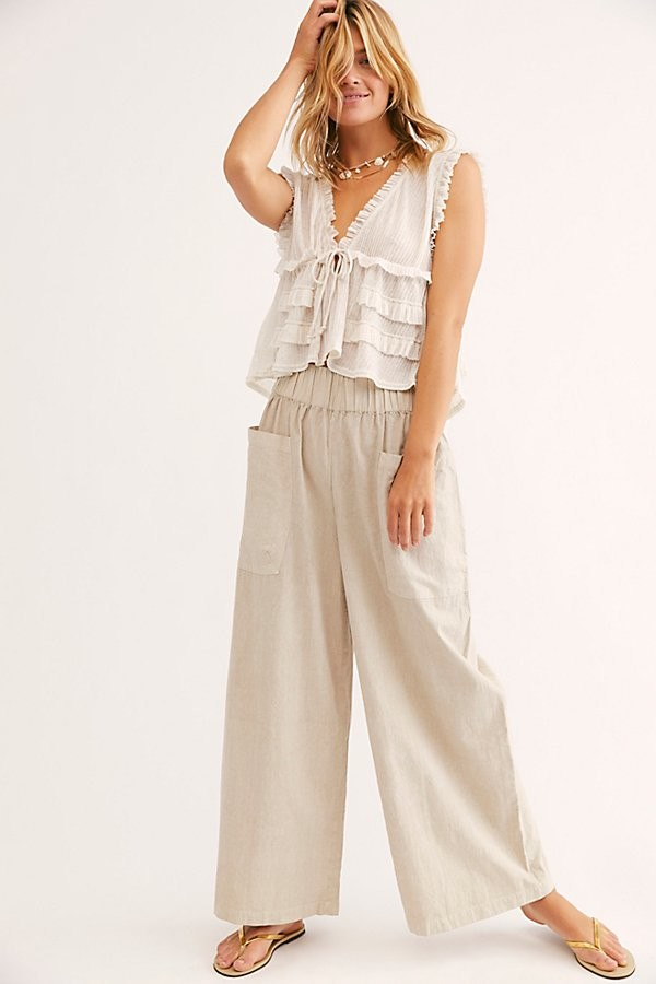 Free People Women S Wide Leg Pants Shop The World S Largest Collection Of Fashion Shopstyle