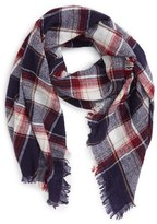 Madewell Women's 'Range' Plaid Wool Scarf