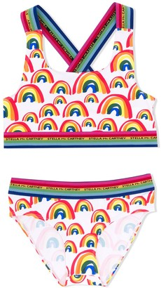 Stella McCartney TEEN Rainbow bikini