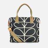 Orla Kiely Women's Stem Zip Messenger Bag - Black
