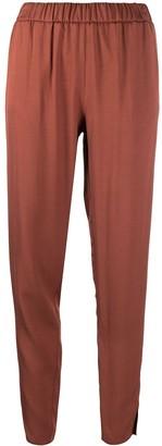 Fabiana Filippi High-Waisted Slit Accent Trousers