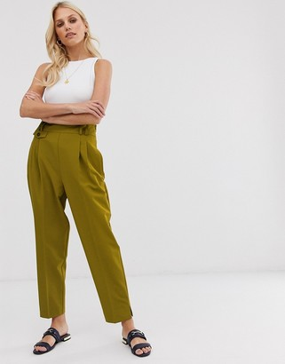Asos DESIGN tailored smart high waist balloon pants