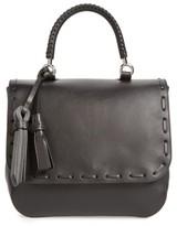 Max Mara Bobag Leather Satchel - Black