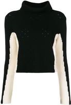 Cashmere In Love cashmere color-block jumper