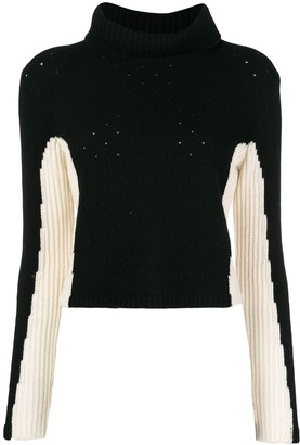 Cashmere In Love Cashmere Color-Block Jumper