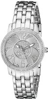 Croton Women's CN207420SSDI Ballroom Analog Display Swiss Quartz Silver Watch
