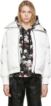Moncler White Down Inde Jacket