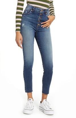 STS Blue Brie High Waist Crop Skinny Jeans