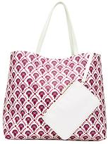 John Lewis Calico Grab Bag, Flower Print